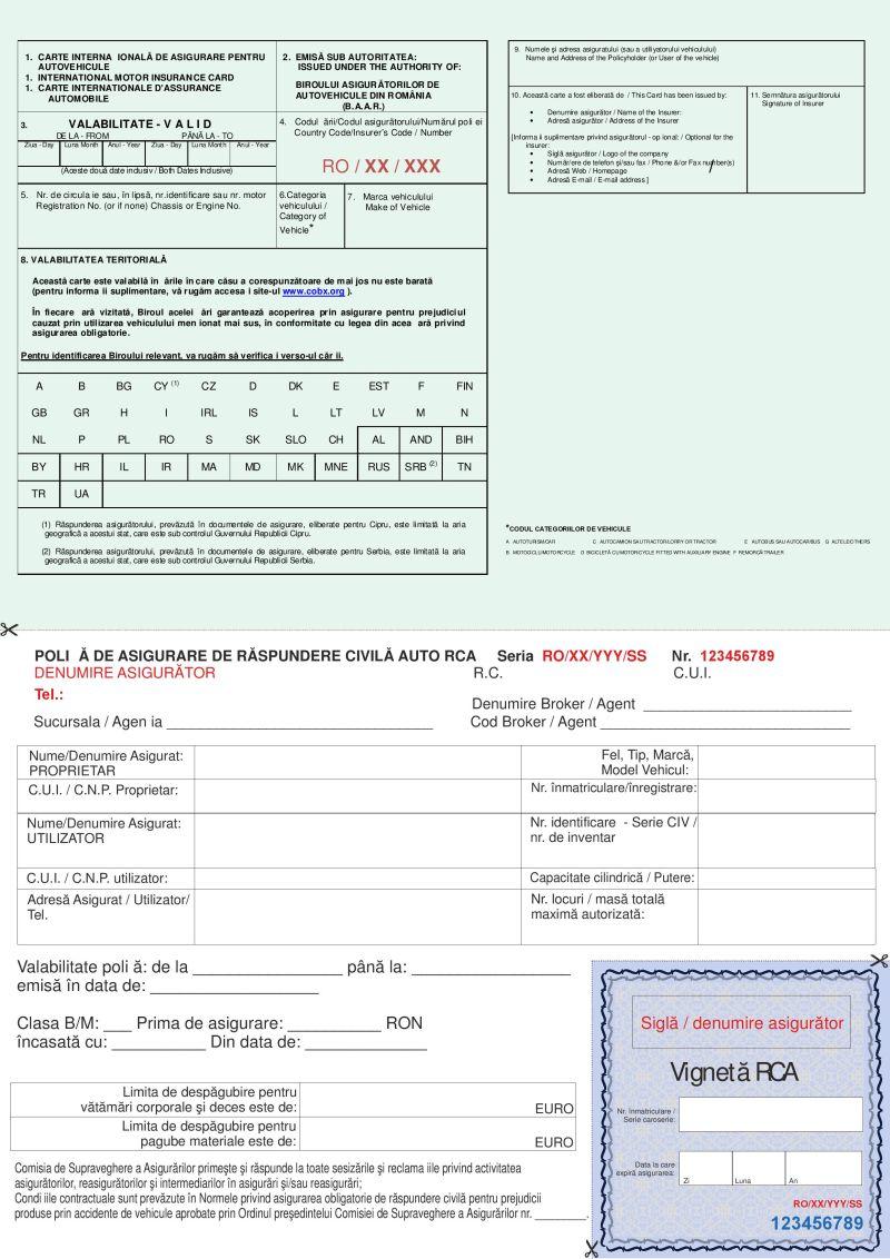 Asigurarea auto RCA VALIDA este obligatoriu cand va prezentati la verificarea auto periodica ITP